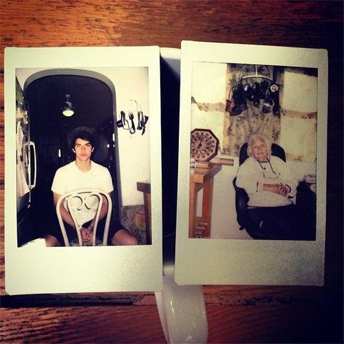 Cameron And Granny Allstar Weekend Polaroid Polaroid Film Film