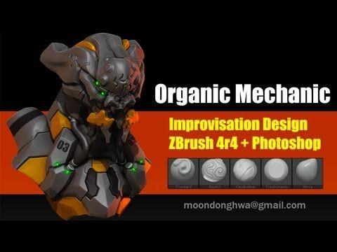 ZBrush for Concept Design - Mech Design - YouTube