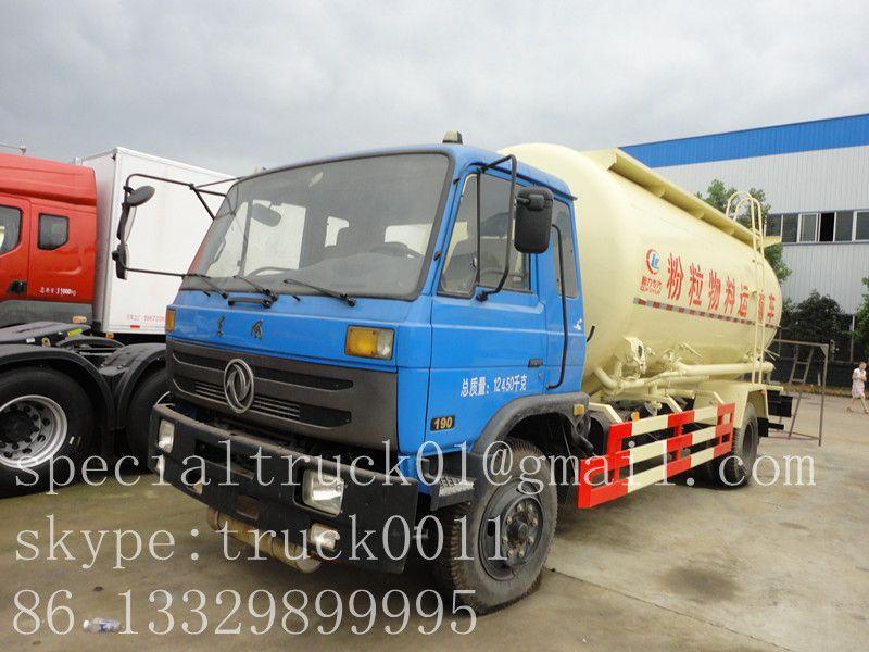 dry bulk powder silo tank truck