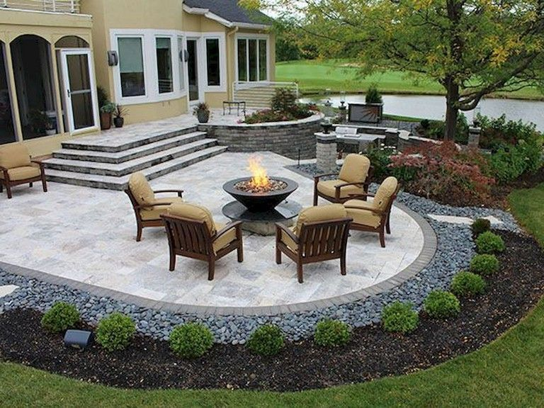 95 Amazing Fire Pit Ideas For Backyard Outdoor Design Ideas And Decoration Backyard Layout Patio Layout Backyard Patio Designs