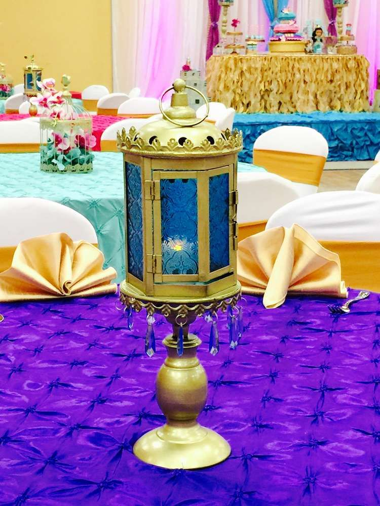 Princess Jasmine (Aladdin) Baby Shower Party Ideas in 2018