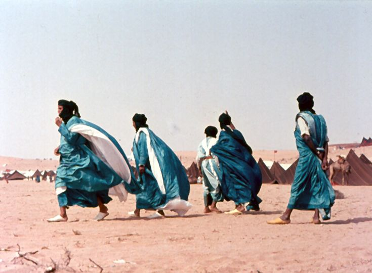 Africa | Tuareg men at the Tan-Tan festivities in the Mauritanian desert | ©Jens Friedrich