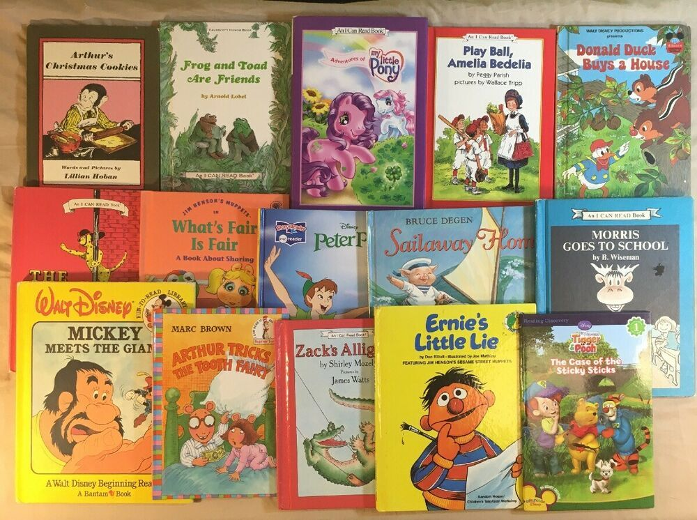 Children S Book Lot Of 15 I Can Read Story Books Early