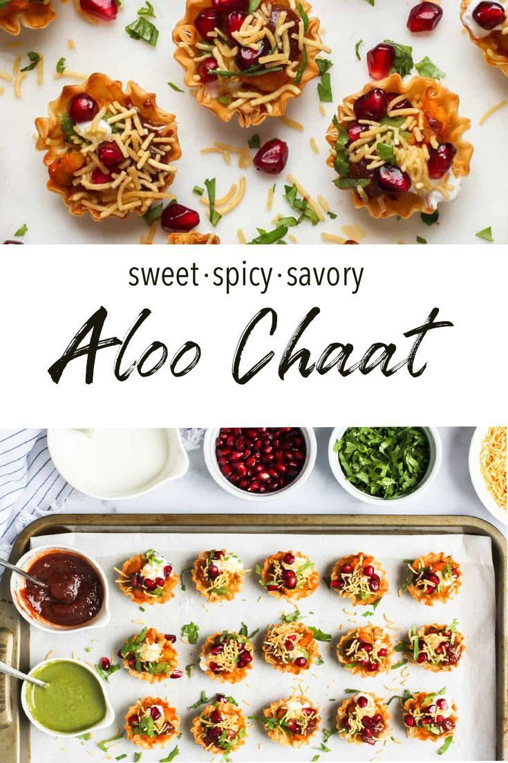 Easy Aloo Chaat recipe using phyllo cups Ministry of