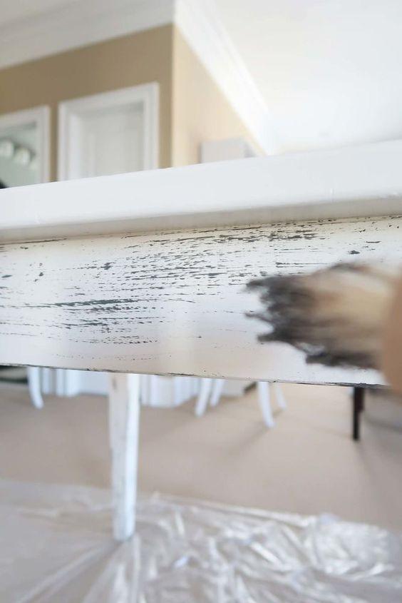 Knock Off Pottery Barn Driftwood Gray Paint Finish