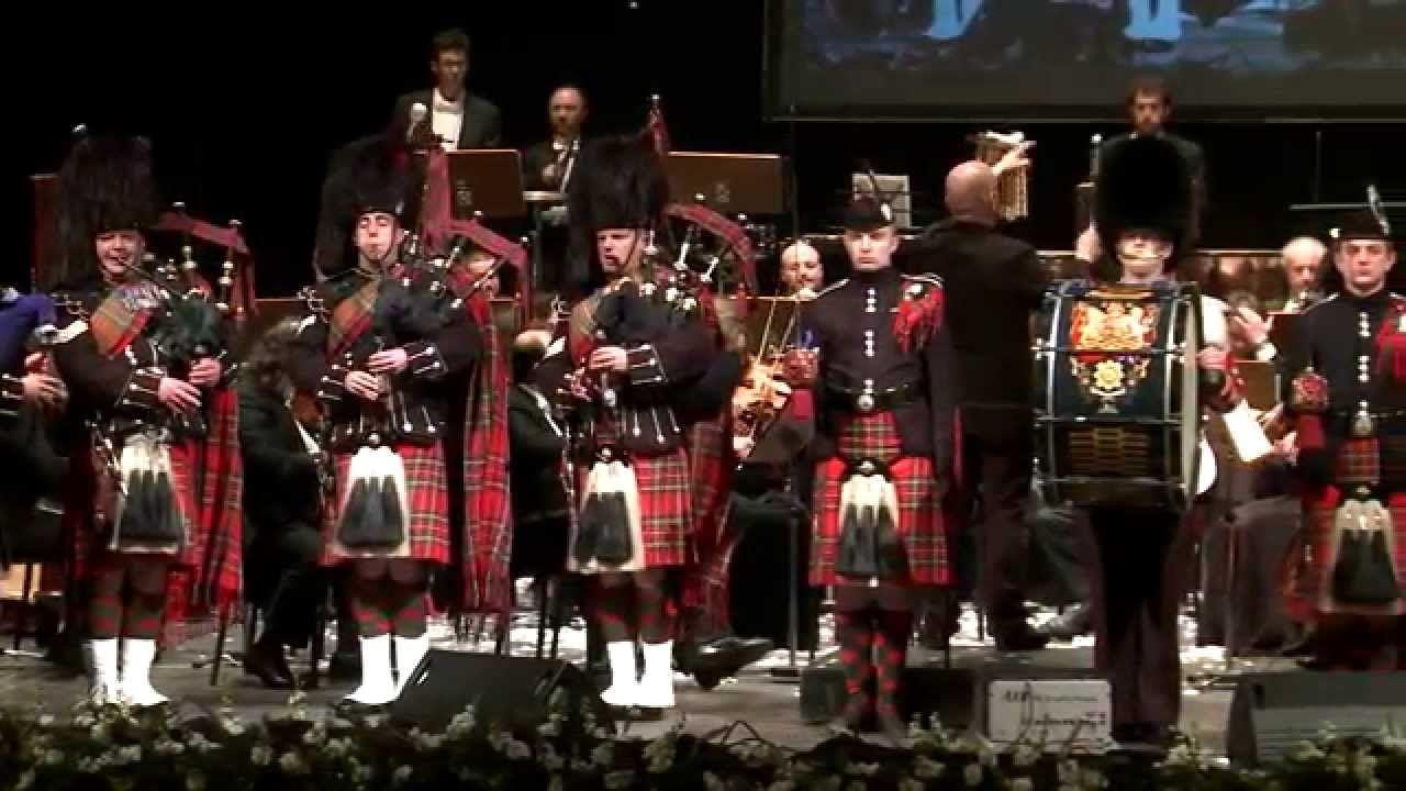 Flower of Scotland // Scots Guards Lucca Philharmonic
