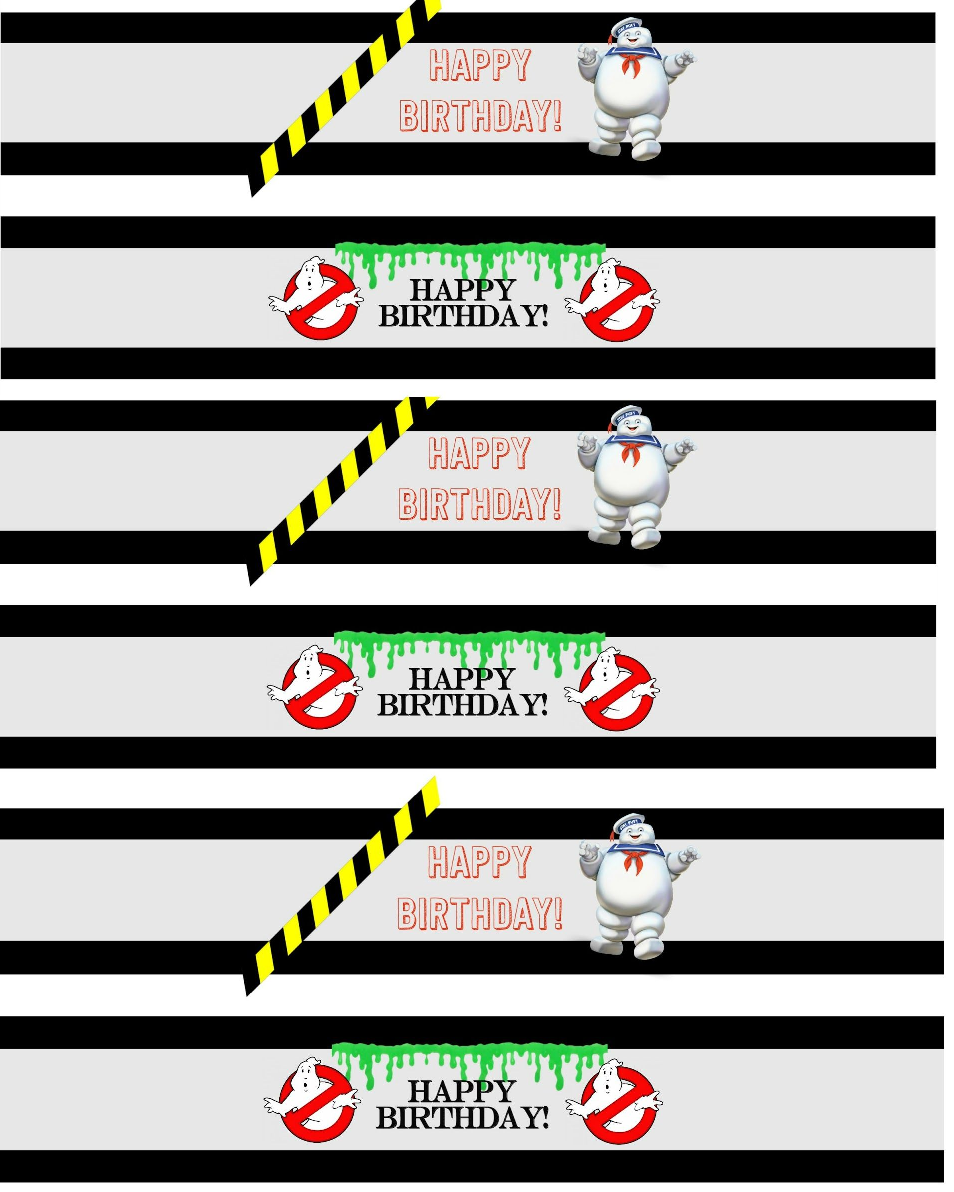 Displaying Drink labels.jpg Ghostbusters party