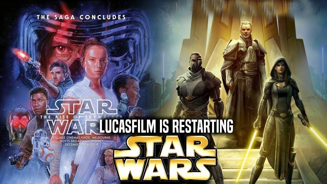Lucasfilm Is Restarting Star Wars Horrible Changes Are Coming Star Wars Poster Star Wars Pictures Star Wars Episodes