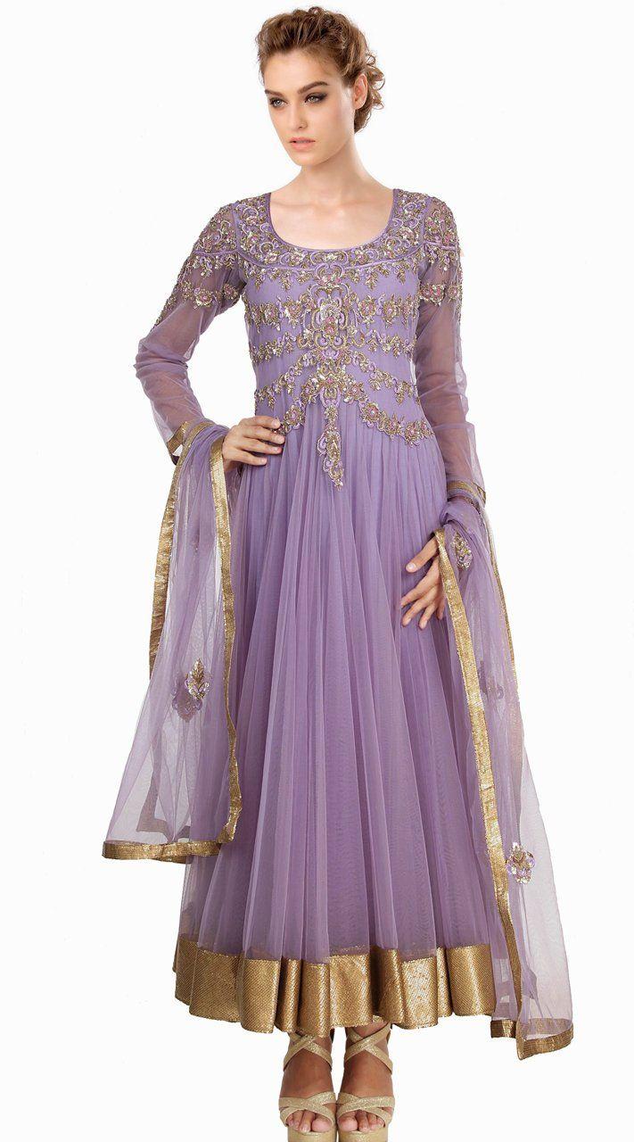 335c7f2c6f Lavender Net Readymade Plus Size Salwar Kameez SU18510 in 2019 ...