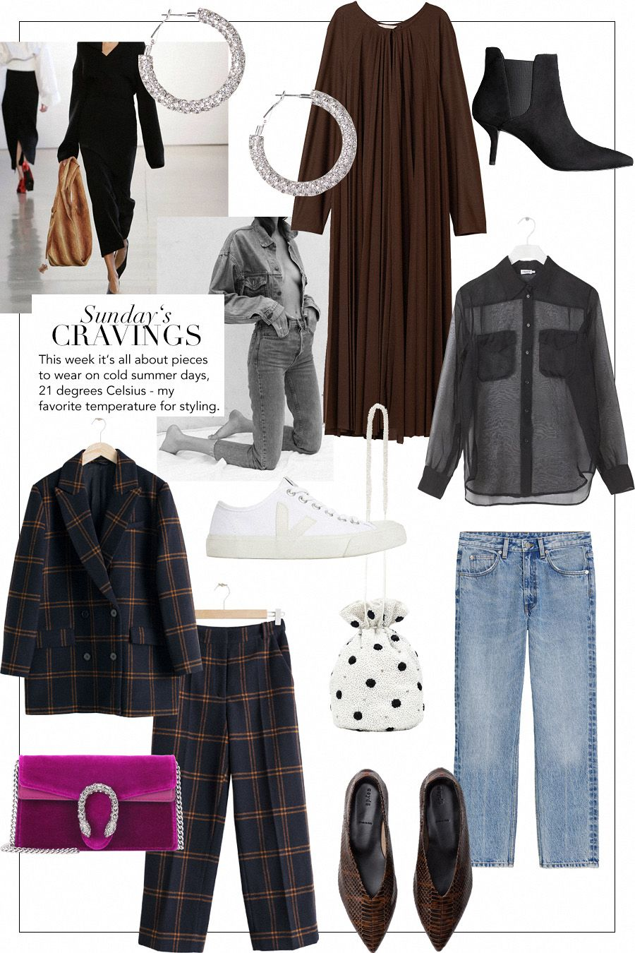 to wear - How to oversized wear plaid shirt polyvore video