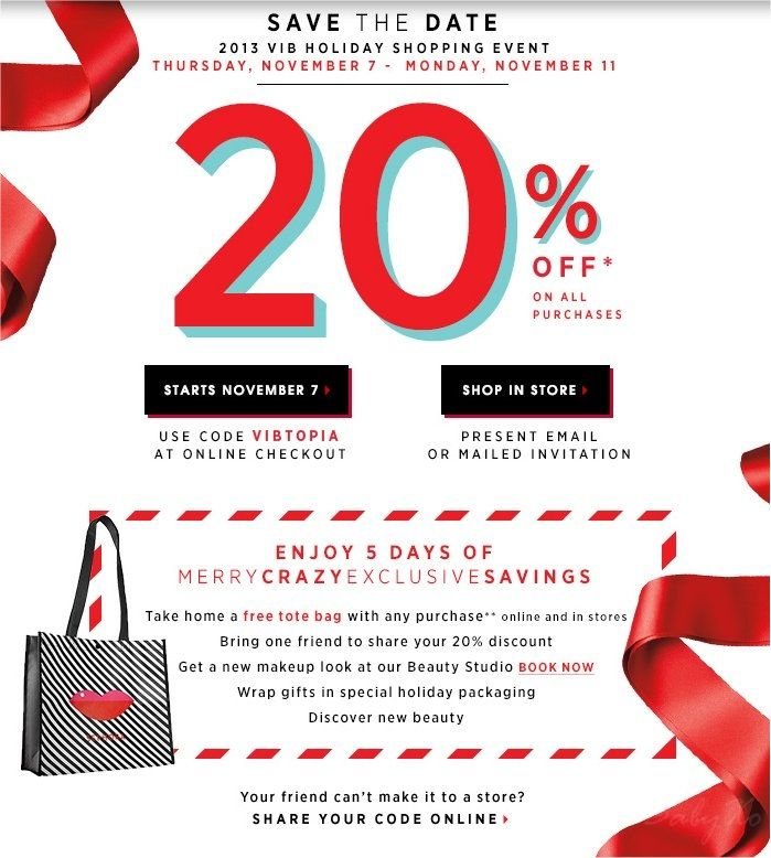 Find the best Sephora coupons, promo codes & holiday deals for All codes guaranteed to work. Exclusive offers & bonuses up to % back! CouponCabin. Search. Search. Top Searches 20% off a wide variety of items (registered Rouge members only) $ avg order. Show Coupon. Coupon Code.