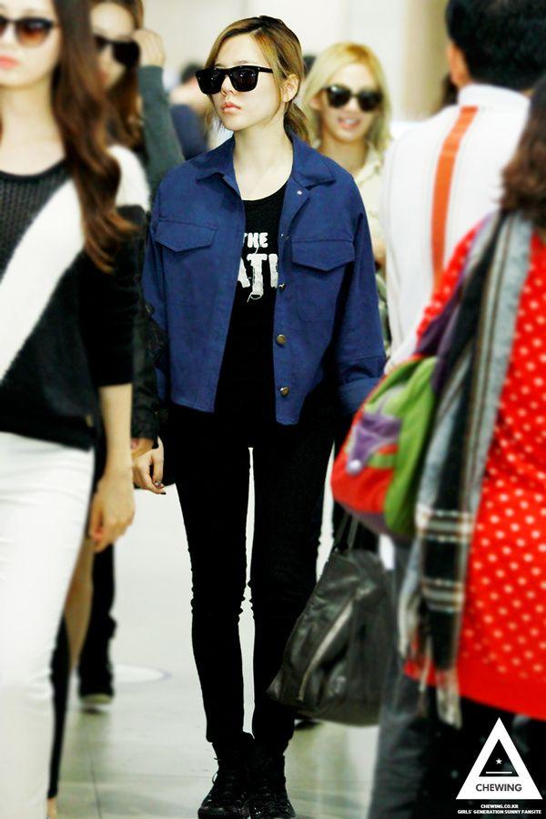 423ea3795aa55 lookbook   Photo Snsd Airport Fashion