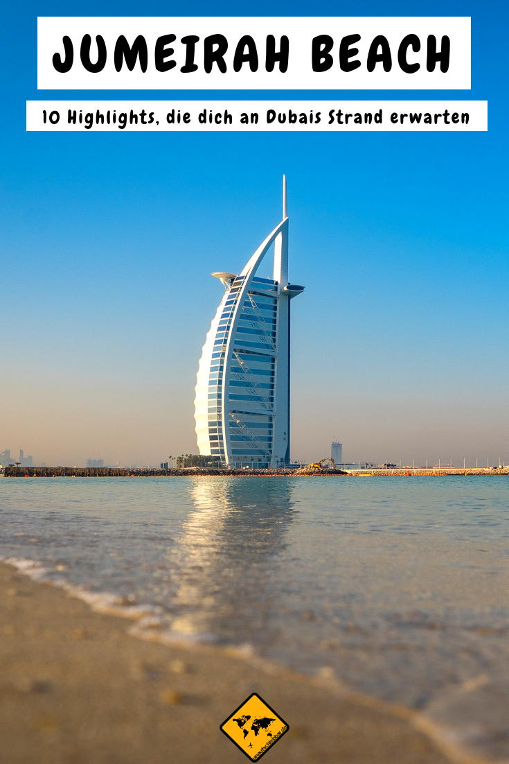 Jumeirah Beach Dubai Urlaub Dubai Reise Dubai Strand