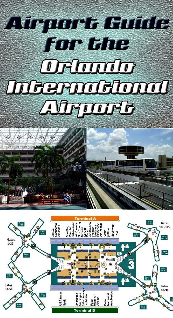 Orlando International Airport Maps, directions, gate