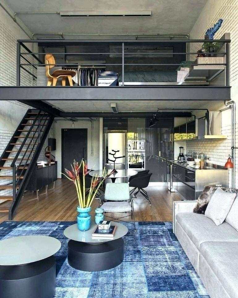 Loft Design Idea Living Room New Beautiful Loft Living Room Ideas Rooms Idea Modern Chic Design De Interiores Do Sotao Lofts Modernos Projeto De Apartamento