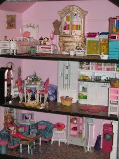 Barbie House Barbie House Furniture Barbie Doll House Barbie House