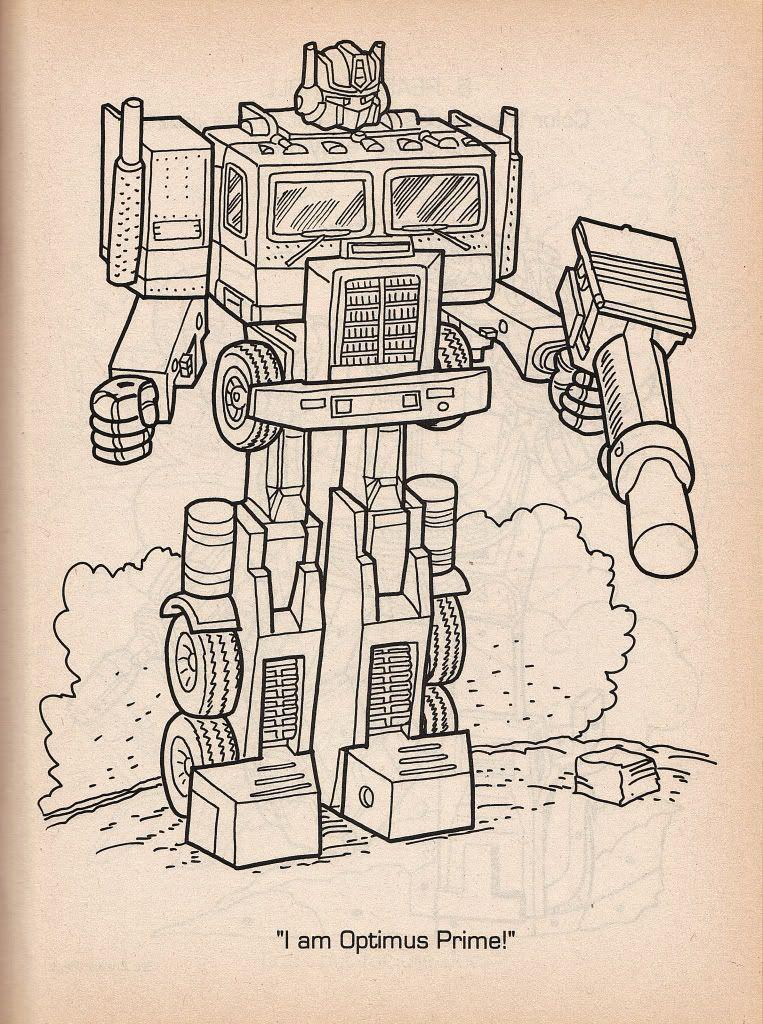 I am Optimus Prime\