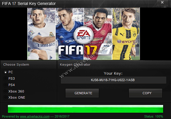 download fifa 17 serial key generator free