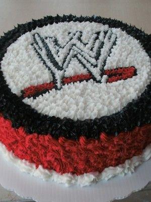 WWE Wrestlemania WWE party ideas Pinterest Cake Birthdays and