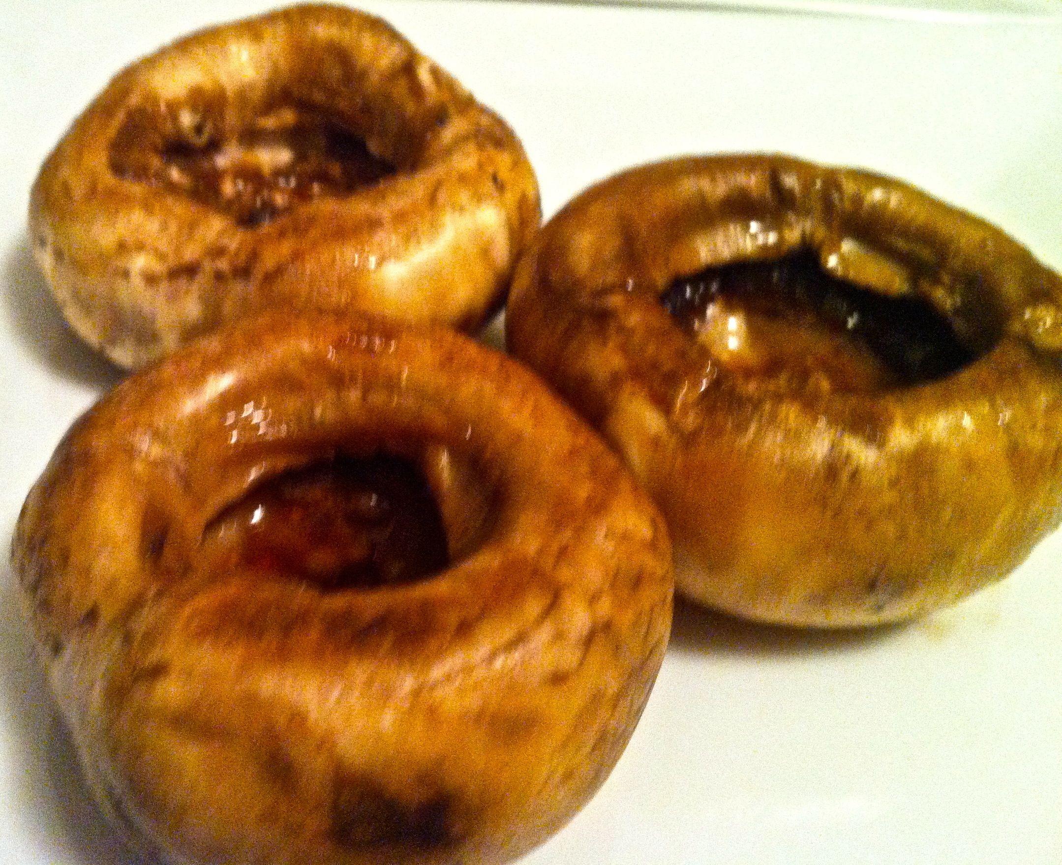 ... sauce and olive oil marinated mushroom caps for Stuffed Mushrooms