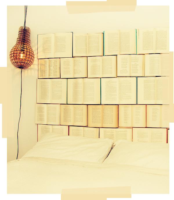 Book headboard #diy #books #upcycle | Diy book, Book ...