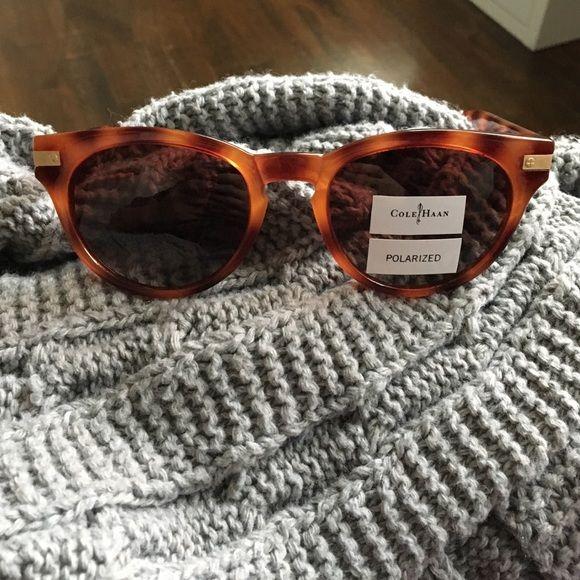 Cole Haan sunglasses Polarized Cole Haan sunglasses. Never worn! Cole Haan Accessories Sunglasses
