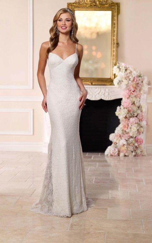 Dramatic Low Back Wedding Dress | Stella york, Wedding dress and ...