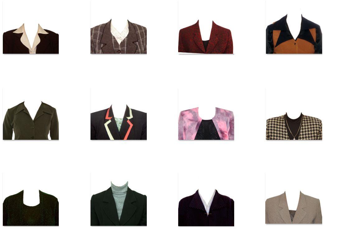 Esta colección de Trajes y ternos psd para mujeres y hombres es un ...