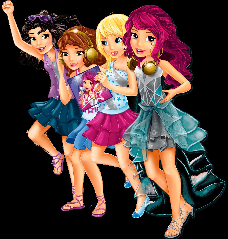 Лего френдс для девочек картинки из мультиков