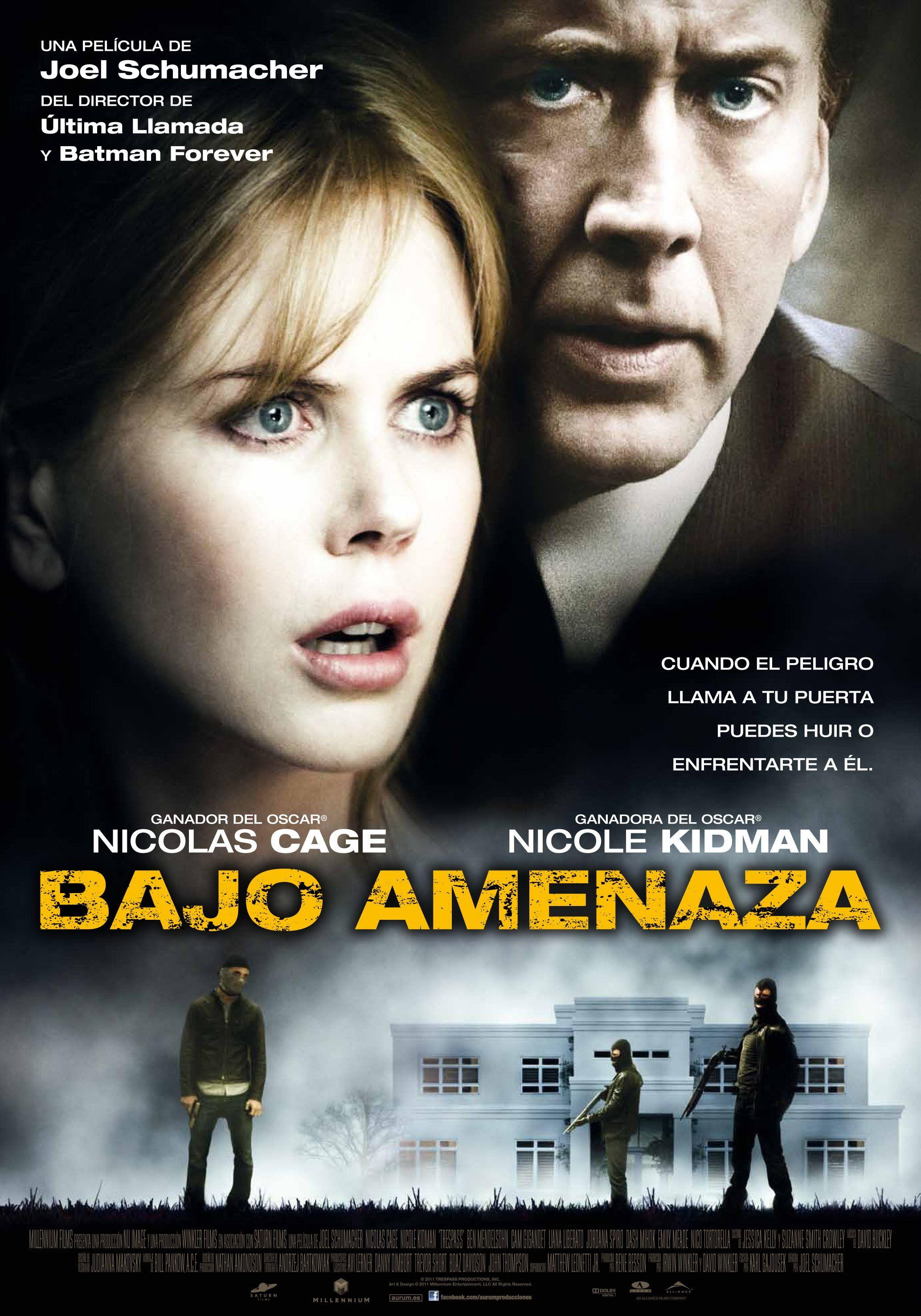 Bajo Amenaza Nicolas Cage Peliculas Mejores Peliculas De Accion
