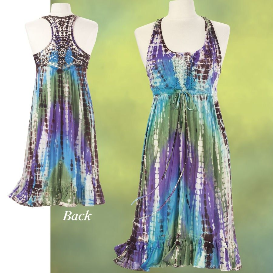 Tie Dyed Fusion Dress