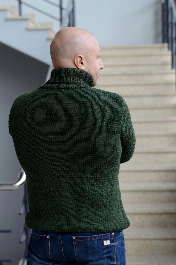 Pescador suéter de punto Cable regalo le mano puente por ShopLaLune ...