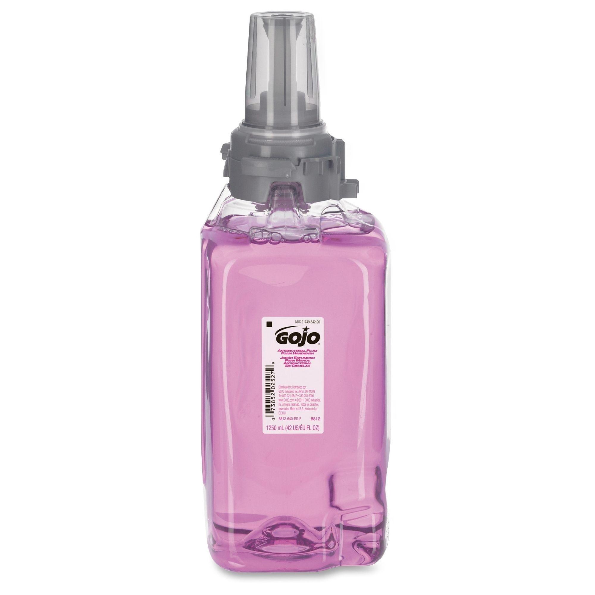 Gojo Adx 12 Dispenser Plum Antibactrl Handwash Master Purple