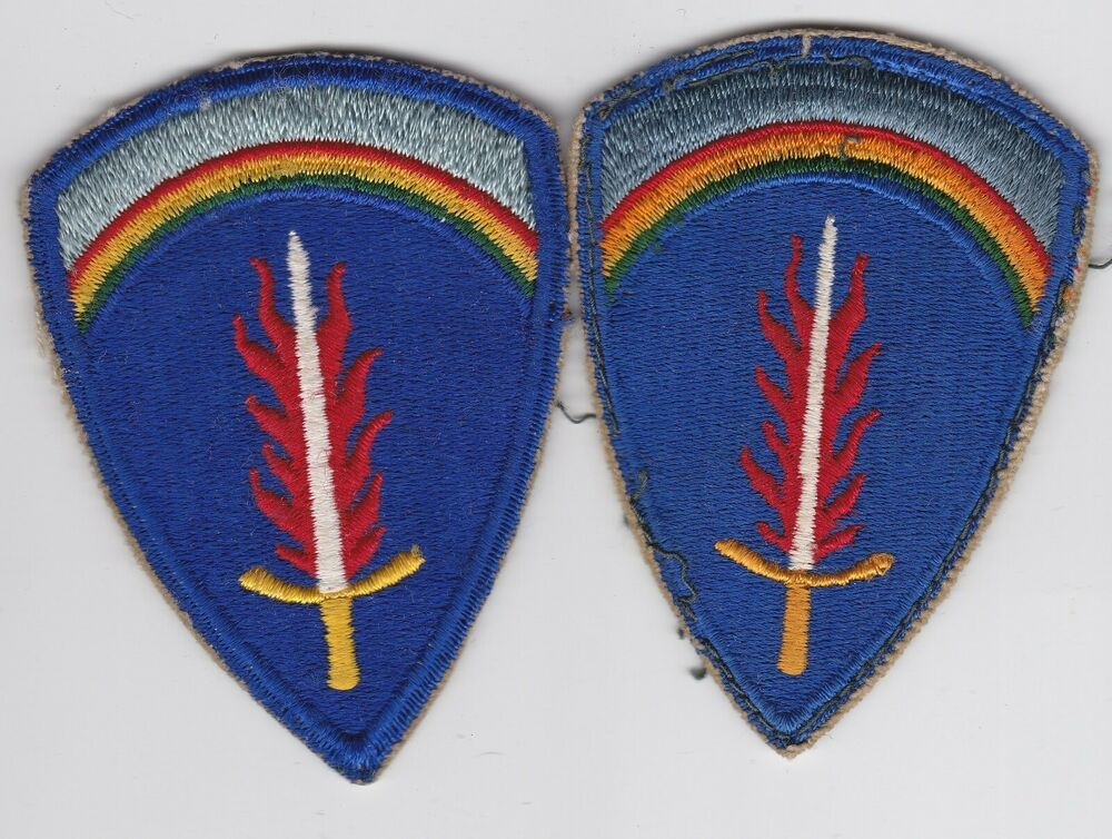 WWII Europe Patch