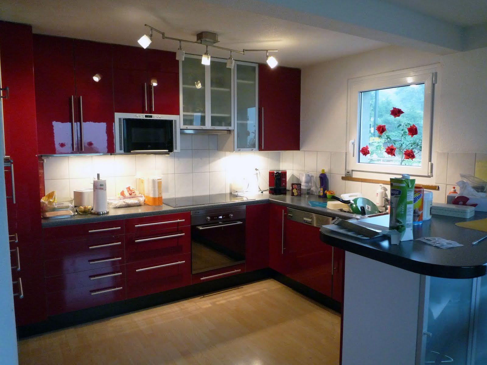 cocinas   cocinas   Pinterest   Cocinas, Cocina roja y Estilos de ...