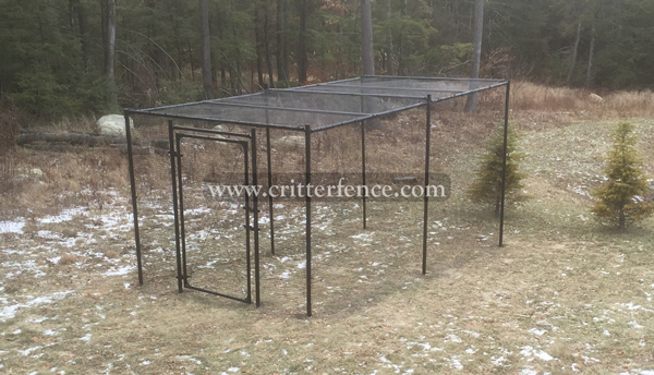 Fence Kit With Top 1 (7.5 tall x 112 Square Feet) - 685248511688
