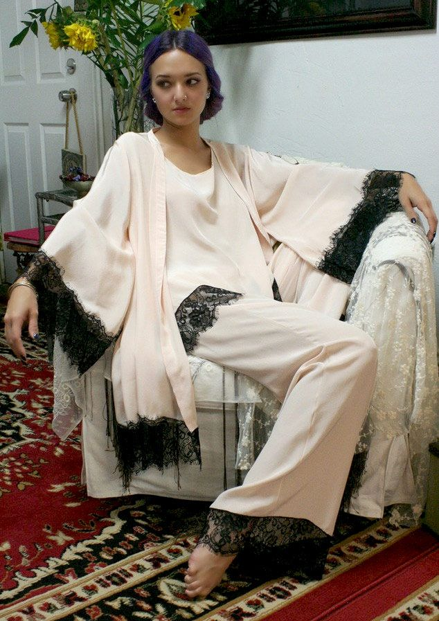 Vintage on the Web - February 2015 | Style, Pajamas and Silk