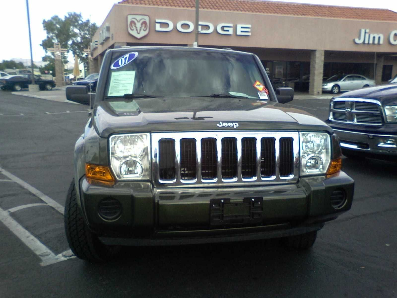 Used 2007 Jeep Commander AUTO For Sale Jeep commander
