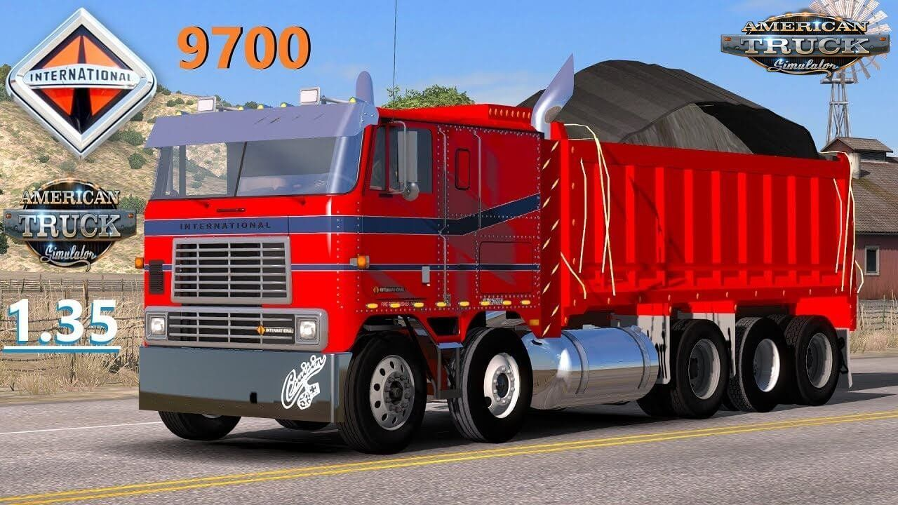 International 9700t 1 35 X American Truck Simulator