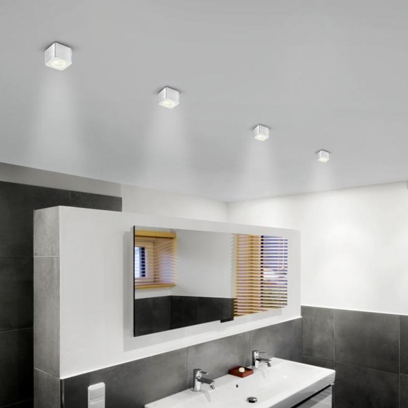 Helestra oso led deckenleuchte bathroom lampe for Badezimmer deckenleuchte design