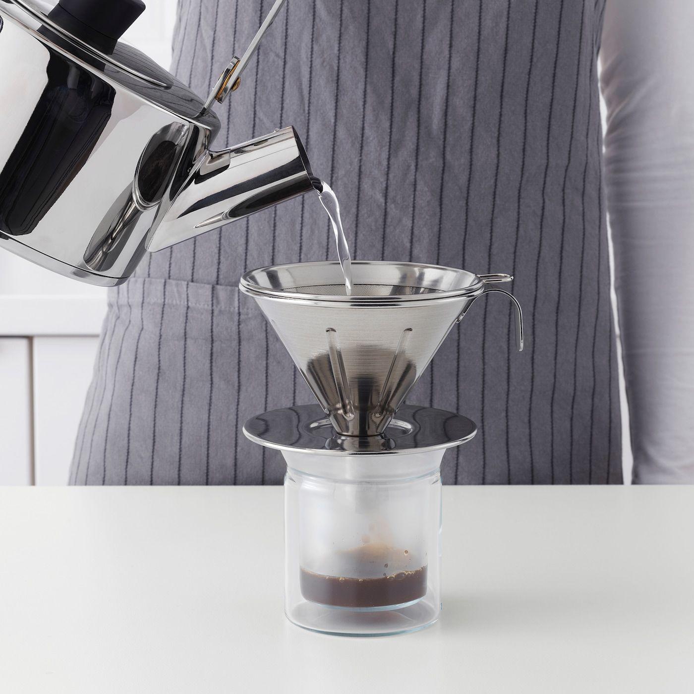 IKEA ÖVERST Metal coffee filter in 2020 Metal coffee