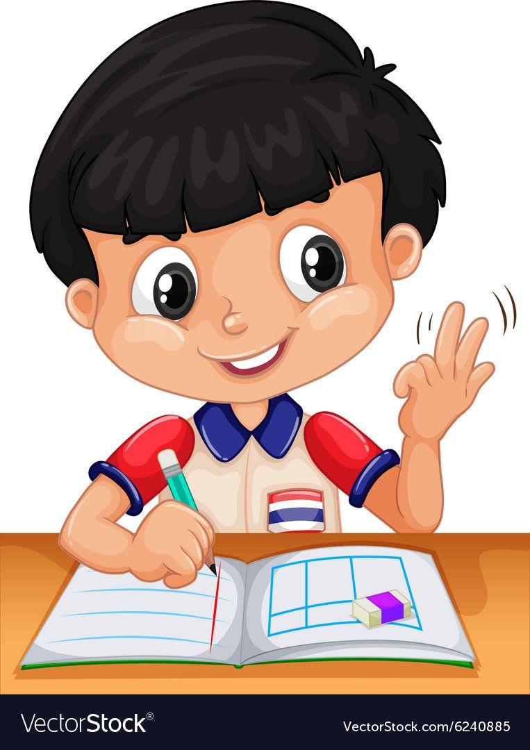 Do homework clipart