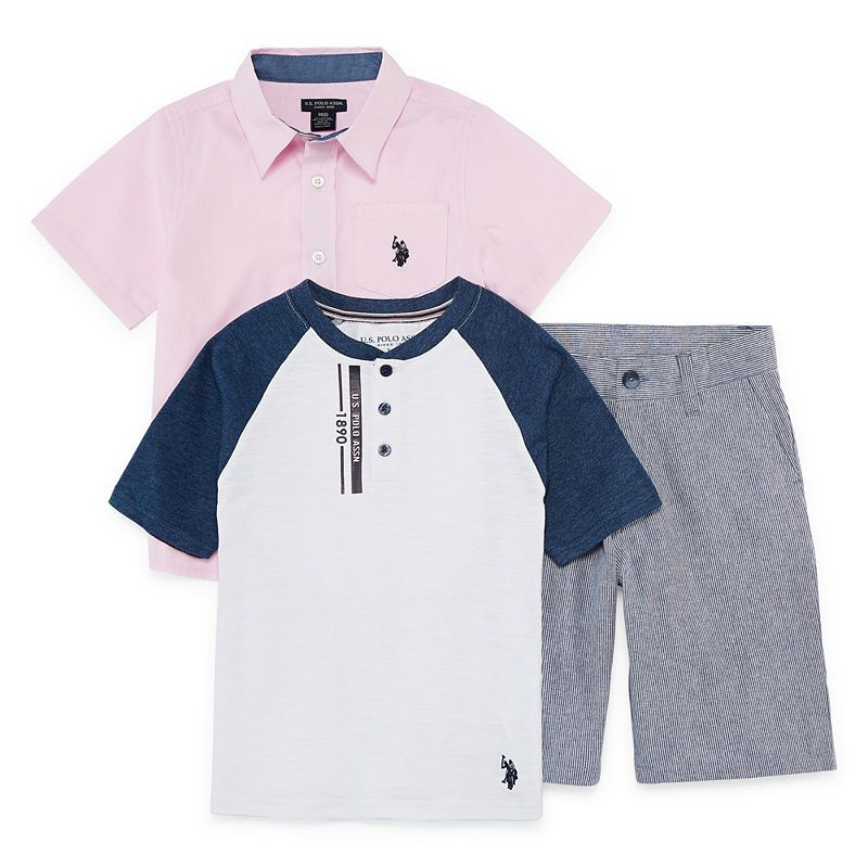 U.S Polo Assn Boys Short