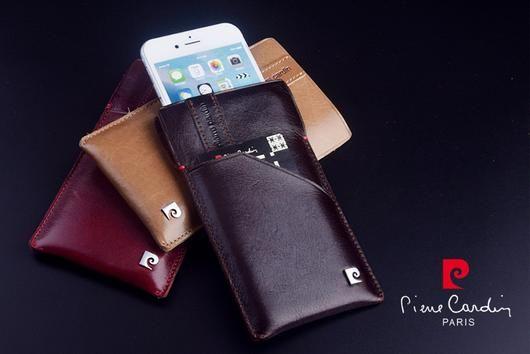 pierre cardin iphone sleeve pouch