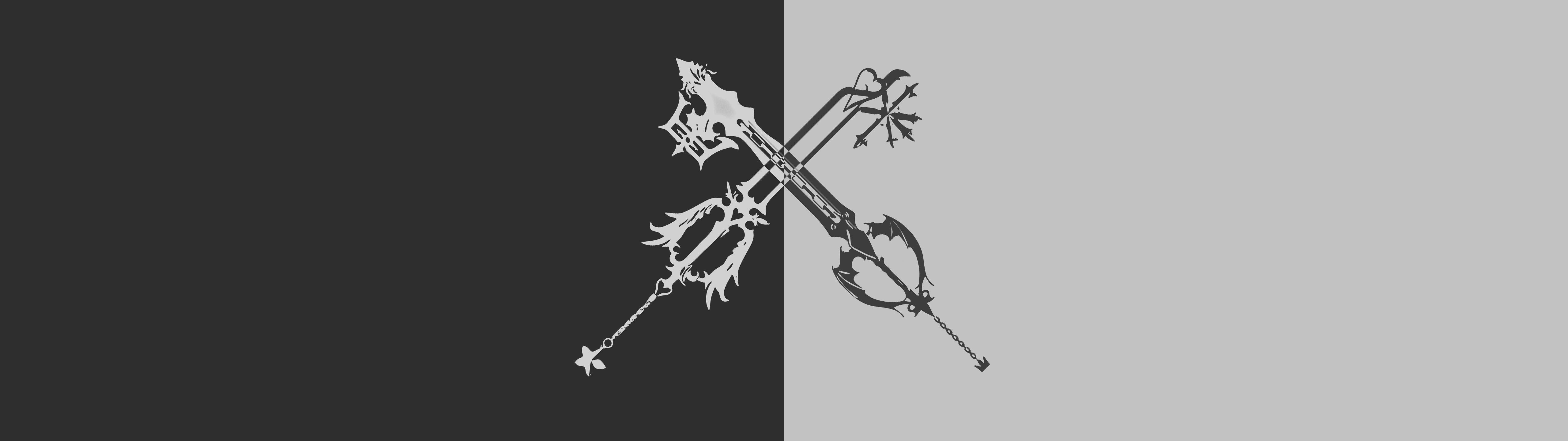 #Kingdom Hearts Oathkeeper/Oblivion wallpaper for single [25601440] & dual monitor [51201440] #Hdwallpaper #wallpaper #image