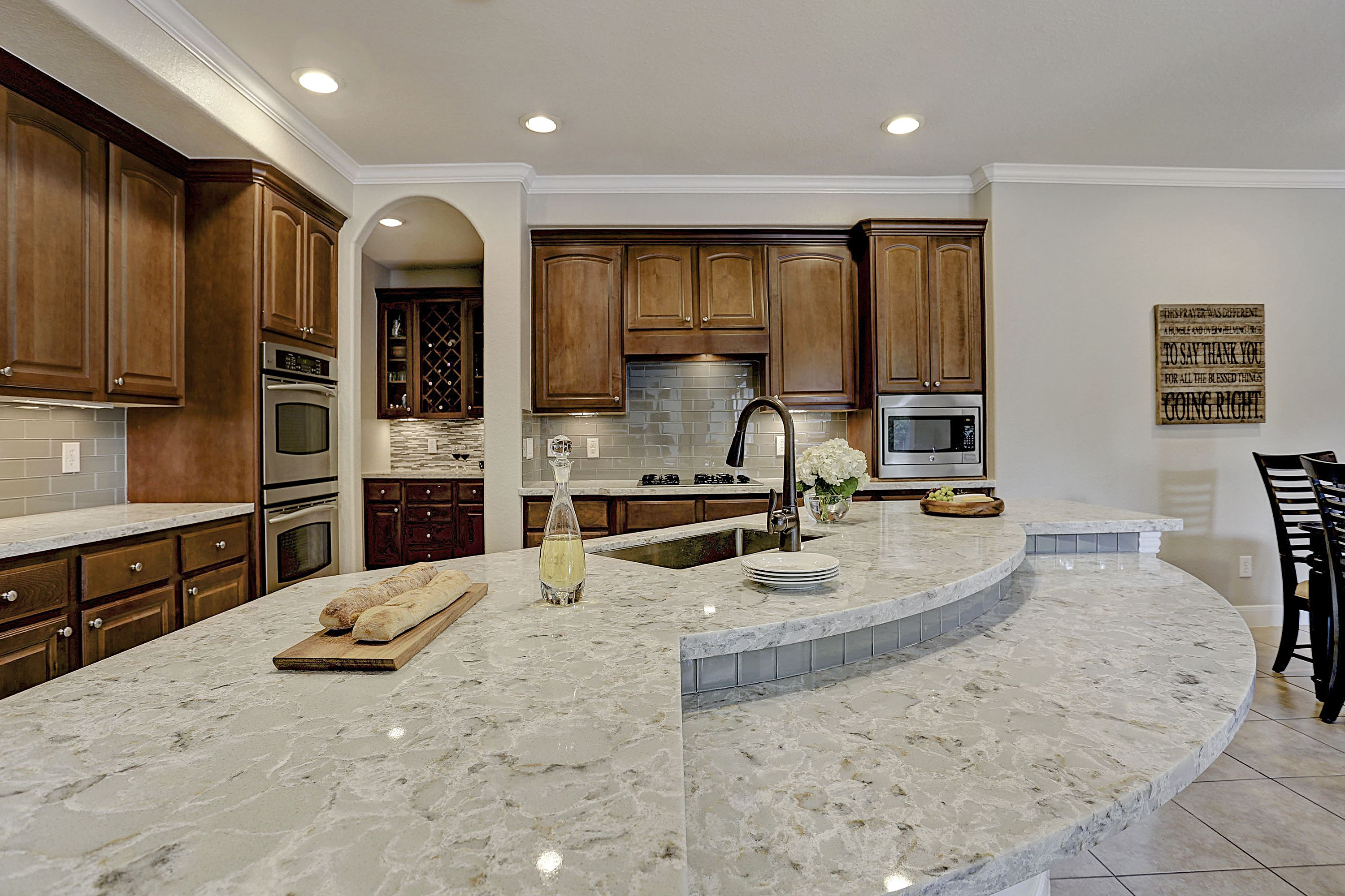 Allen Roth Quartz Countertops Titanium Swell From The Allen 43 Roth Quartz Collection