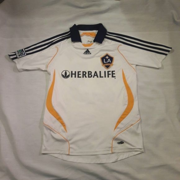 240aa9a85 DAVID BECKHAM  23 LA GALAXY MLS SOCCER JERSEY. DAVID BECKHAM  23 LA GALAXY