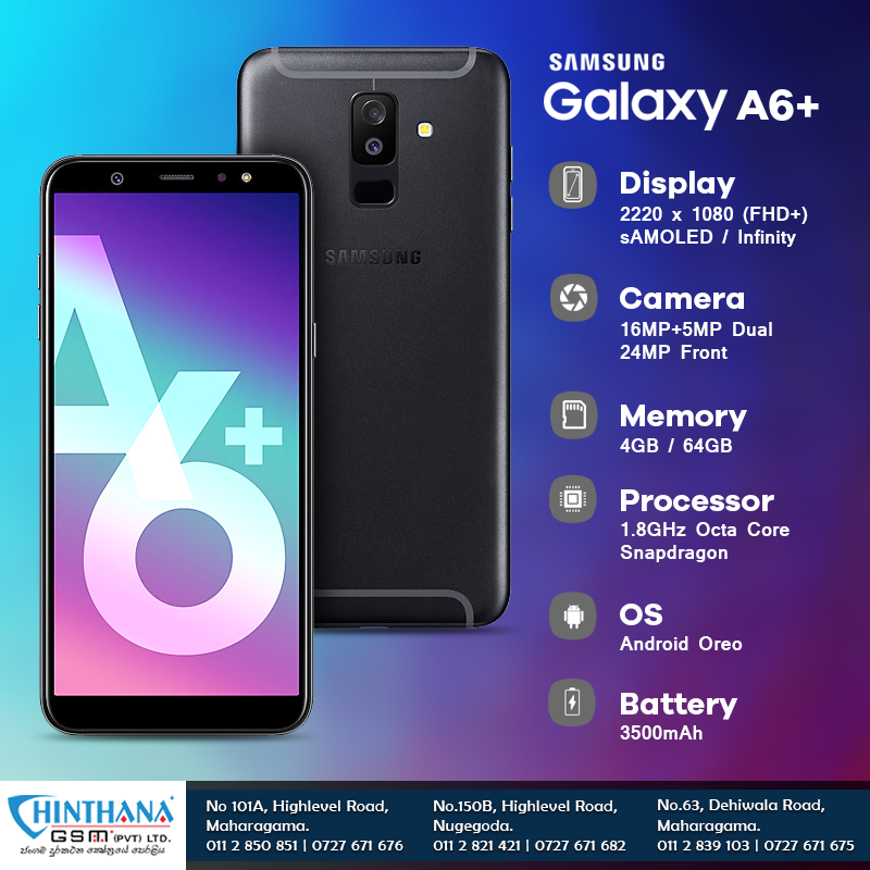 Get The Best Price For Samsung Galaxy A6 Vist Chinthanagsm Lk To