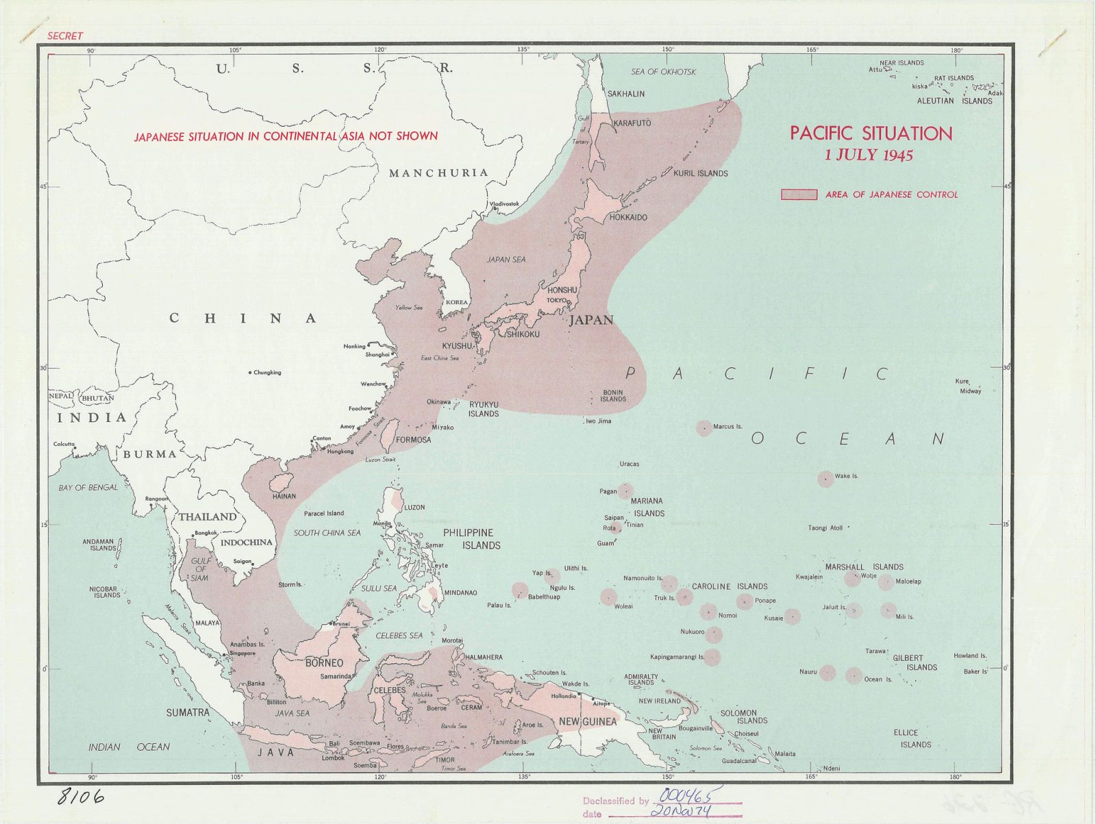 These 19 Declassified Cia Maps Are Just Fantastic Map Japan History Cartography