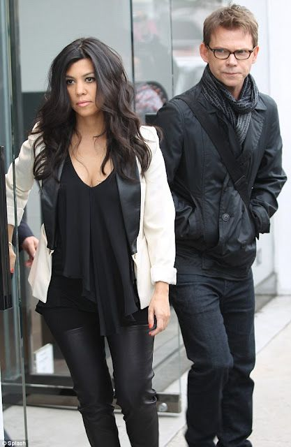 Kourtney Kardashian was all business while heading out to a meeting this Tuesday, March 6 in Los Angeles, California.